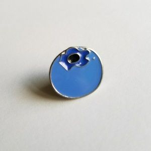 Accessories - Blueberry Enamel Pin
